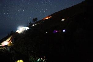 Camping on Rinjani